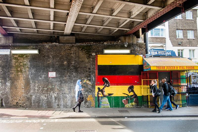 Street, Brixton, London, United Kingdom