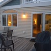 BBQ deck and outside dining area