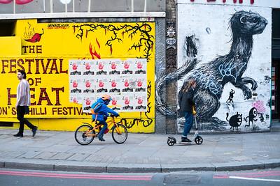 Graffitii, Shoreditch, London, United Kingdom
