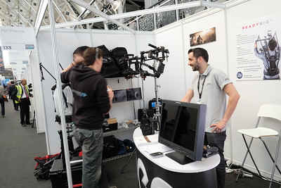 The Media Production Show, Business Design Centre, Islington, London, United Kingdom