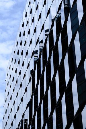 Architecture on Fetter Lane, London, United Kingdom