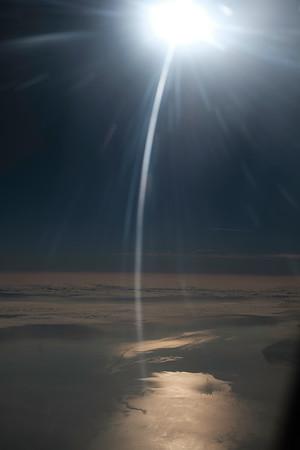 Flying from London, Heathrow, United Kingdom