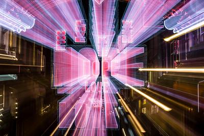 Carnaby Street, Christmas illuminations, West End, London, United Kingdom