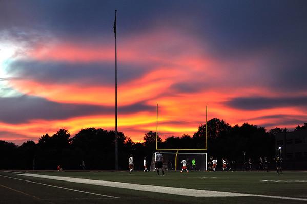 10/6/2015  Sunset at Bethel Park High School