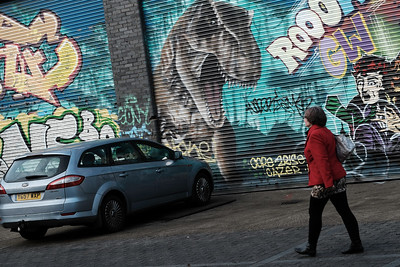 Graffiti, Hackney, East London, United Kingdom