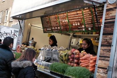 Market at Leather Lane, London, United Kingdom