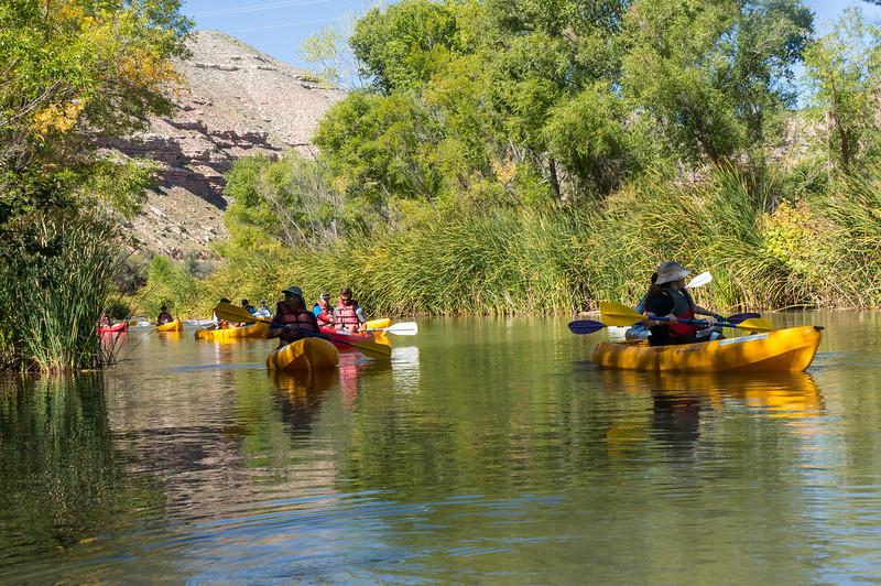 Verde River Institute Float, Tapco to Tuzi, 10/8/19
