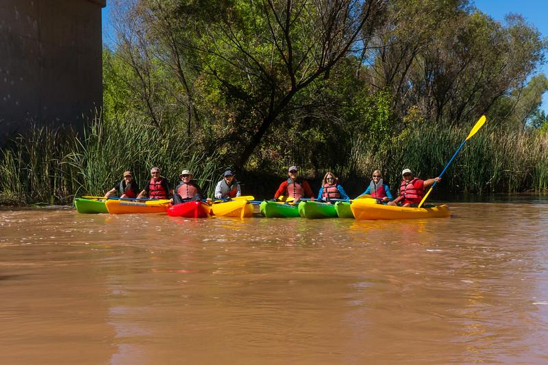 Verde River Institute Float Trip, Tapco to Tuzi, 10/9/18
