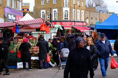 Street market, Dalston, Kingsland, London, United Kingdom