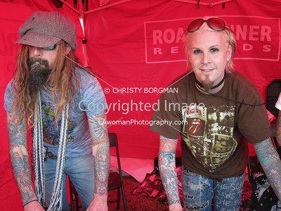Rob Zombie and John 5