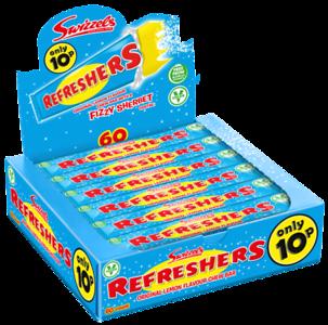 72590 Refreshers Chew Bar 10p SRP