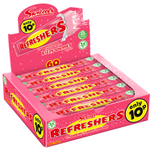 72734 New Refreshers Strawberry 10p Chew Bar SRP