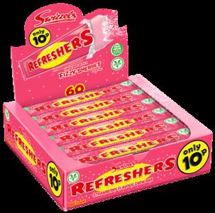 72734 Refreshers Chew Bar Strawberry 10p SRP
