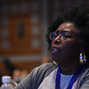 "Tenth Triennial Convention | Wanda Williams, Springfield, Il., Historical Grace Evangelical Lutheran, sings, ""What a friend we have in Jesus."""