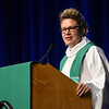 Tenth Triennial Convention | The Rev. Jodi Houge, pastor at Humble Walk Lutheran, St. Paul, Minn., preached at the Holy Communion Service.