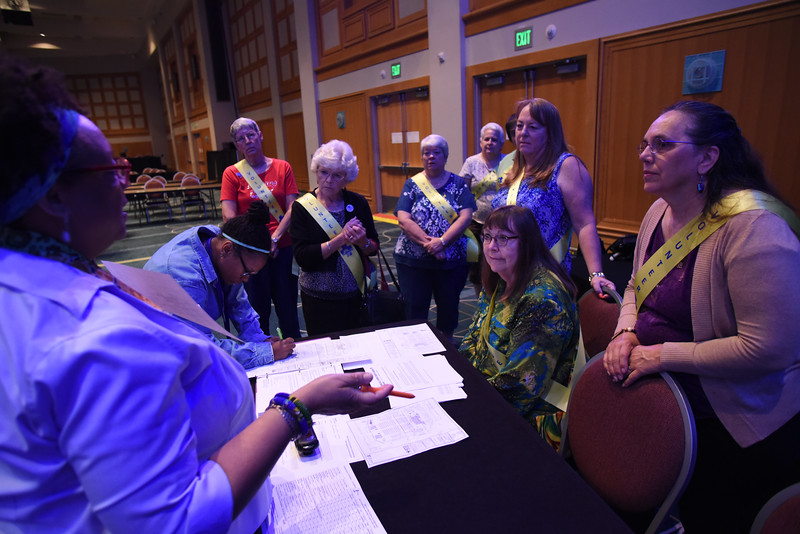 Tenth Triennial Convention | Convention pages before the opening of Plenary 1.