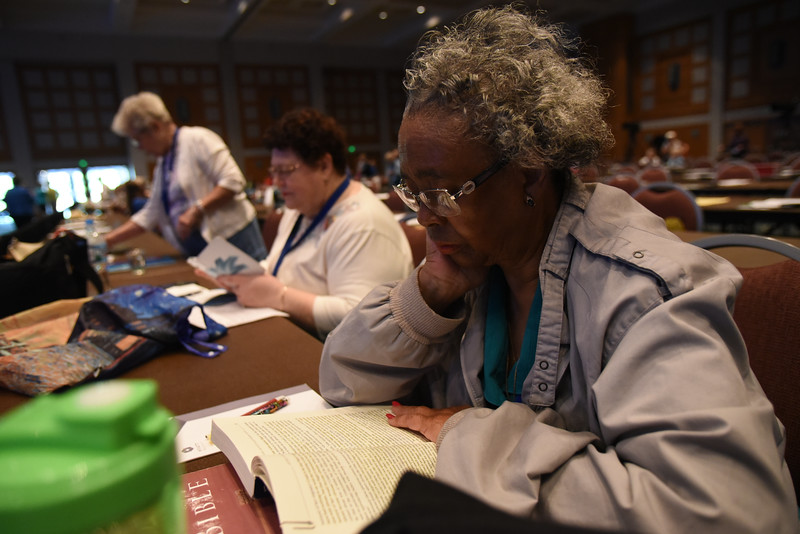Tenth Triennial Convention | Voting members prepare for Plenary 1.
