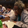 Tenth Triennial Convention | Voting members prepare for Plenary 1.