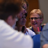 Tenth Triennial Convention | Lisa Plorin, Upham, N.D., was elected this morning as the new president of the executive board for the 2017-2020 triennium.