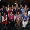 Tenth Triennial Convention | The newly elected 2017-2020 Women of the ELCA executive board.<br /> <br /> Row 1: Lisa Plorin, president (left); Becky Shurson, vice president; Freddie Jordan, secretary; Anna Sarver, treasurer. Row 2: Angela Bell (left), Elizabeth Burgess, Lydia Davila, Karen Voris, Rev Dinah Dutta, Anissa Canova, Tina Bigelow, Keala Simoes. Row 3: Lois Bylund (left), Sara Larson, Barbara Tormondsen, Kandy Pflaster, Sandra Grier, Joy Michalicek, Laura Kruegar. Not pictured: Viviane Thomas-Breitfeld, Lynette Todd.