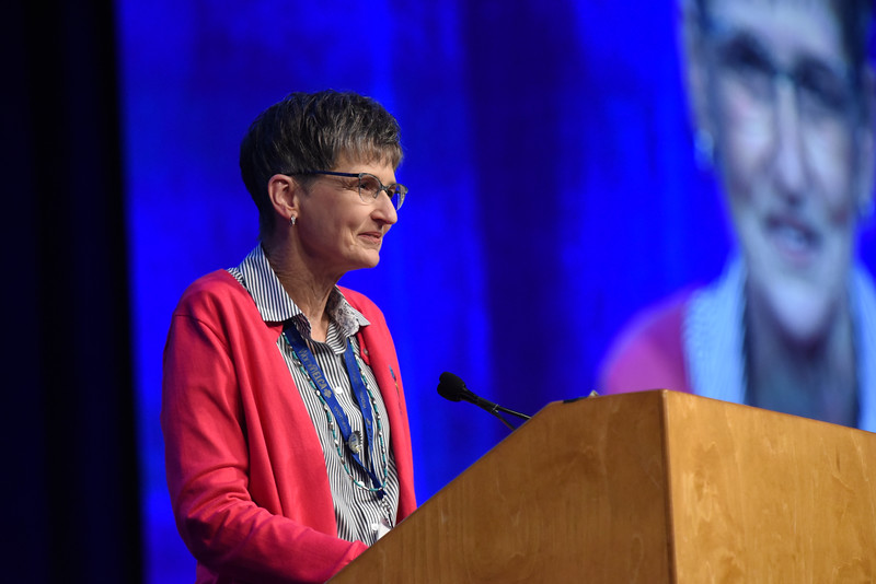 Tenth Triennial Convention | Becky Shurson, Eugene, Oregon, was elected as vice president of the 2017-2020 Women of the ELCA executive board.