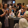 Tenth Triennial Gathering |  Mary Winsor, Juno Beach, Fla. and Ally McDonough, Charleston, S.C. enjoy the first time attendee breakfast.