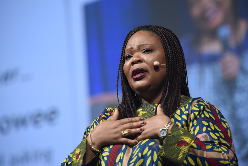 Tenth Triennial Gathering | Leymah Gbowee opens plenary 2.