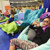 Tenth Triennial Gathering | Sydney Dor, Lancaster, Oh., First English Lutheran Church, relaxes in the girls space.