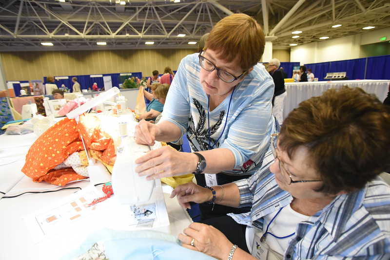 Tenth Triennial Gathering | Judy Cunningham, Fargo, N.D., Hope Lutheran.