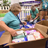 Tenth Triennial Gathering | Sue Zenk, Hackensack, Minn. St. Paul's Lutheran. and Liz Boettcher, Blue Earth, Minn., Trinity Lutheran Church, organize in-kind gifts.