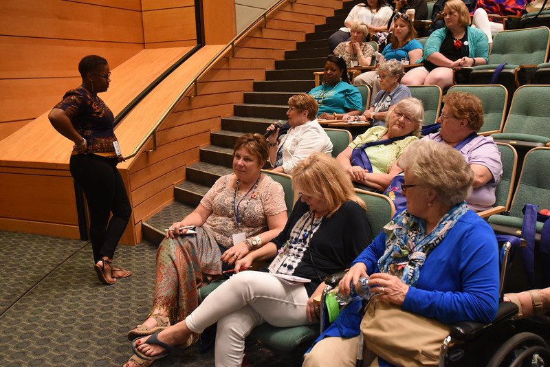 """Tenth Triennial Gathering   Rozella White lead the workshop, """"You are not alone: Facing shame with faith, courage and love."""""""