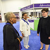 Tenth Triennial Gathering | Bishop Eaton takes a tour of the exhibit hall