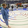 Tenth Triennial Gathering | Nancy Marvitis, Santa Rosa, Ca., walks the labyrinth in the servant event area in the exhibit hall.