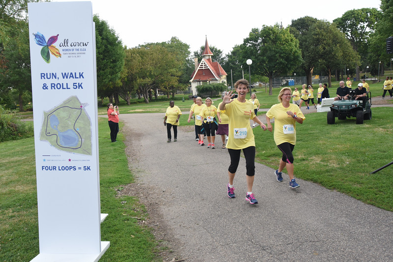 Tenth Triennial Gathering | Happy runners at the Run, Walk and Roll.