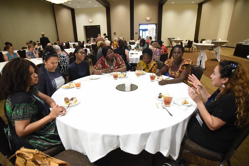 Tenth Triennial Gathering   International Guests Reception.