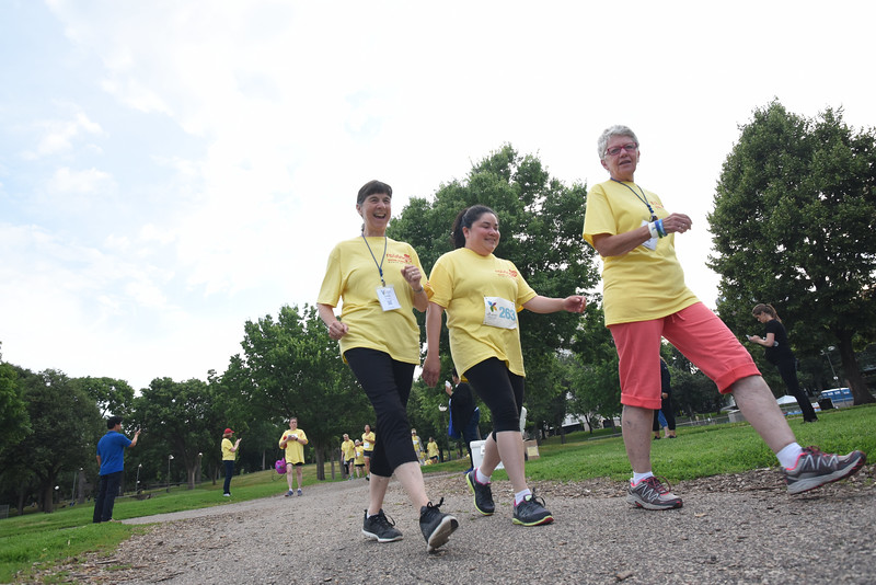 Tenth Triennial Gathering |  Runners and walkers participate in the Run, Walk and Roll.