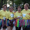 Tenth Triennial Gathering | No Run, Walk and Roll is complete without a tutu. From the left: Roxanne Hochsprung, Sue Hughes, Ann Joyce, Jan Jarrett, Grace and Peace Lutheran Church, Peoria, Ill.