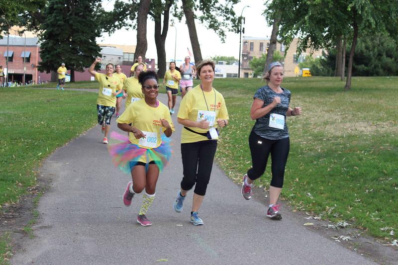 Tenth Triennial Gathering |  It's always fun at that Run, Walk and Roll.