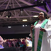 Tenth Triennial Gathering | Rev. Angela Khabeb, Waukesha, Wisc., Ascension Church, preaches the sermon at closing worship.