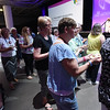 Tenth Triennial Gathering | Ministers prepare communion at closing worship.