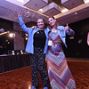 Tenth Triennial Gathering |  Newly elected board members, Anissa Cordova and Sarah Larson, pose on the dance floor at Lounge '70.'80.'90.