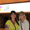 Tenth Triennial Gathering | Nancy Krause and her daughter, Kayla Baker, Bowdon, N. D. attend opening worship.