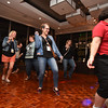 Tenth Triennial Gathering | Electric slide at the Lounge.