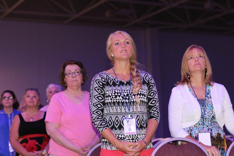 Tenth Triennial Gathering   Opening worship.