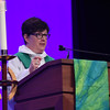 Tenth Triennial Gathering | Bishop Eaton preaches at the opening Thankoffering service with Holy communion.