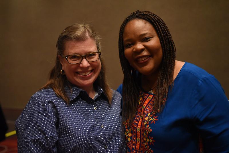 Tenth Triennial Gathering   Sue Edison-Swift, communication staff, interviewed Leymah Gbowee before the start of the triennial gathering.
