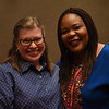 Tenth Triennial Gathering | Sue Edison-Swift, communication staff, interviewed Leymah Gbowee before the start of the triennial gathering.