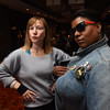 Tenth Triennial Gathering | Elizabeth McBride, Chicago, Women of the ELCA staff and Candace Eubanks, Milwaukee, Wisc. strike their coolest 80s pose.