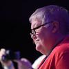Tenth Triennial Gathering |  Nancy Giddings at opening worship.