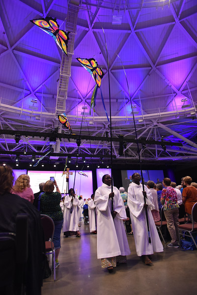 Tenth Triennial Gathering | Closing procession at opening worship.